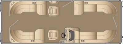 Cruiser CWDH 250 Floorplan