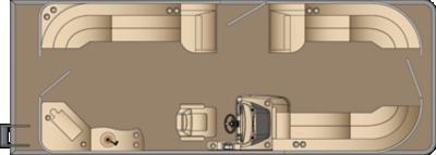 Cruiser CWEC 250 Floorplan