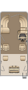 Cruiser FC 210 Floorplan