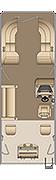 Cruiser FC 250 Floorplan