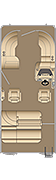 Cruiser SLDH 210 Floorplan