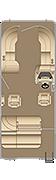 Cruiser SLDH 230 Floorplan