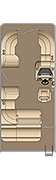 Cruiser SL 210 Floorplan