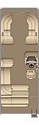 Cruiser SL 250 Floorplan