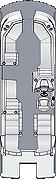 Crowne DL 250 Floorplan