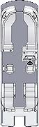 Crowne DLDH 270 Floorplan