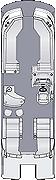 Crowne DLEB 270 Floorplan