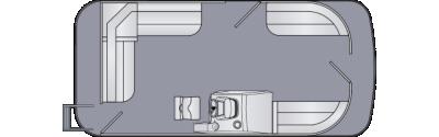 Cruiser LX 180 CS Floorplan