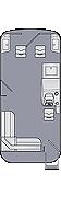Cruiser LX 180 FS Floorplan