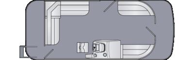 Cruiser LX 200 CS Floorplan