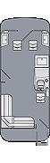 Cruiser LX 200 FS Floorplan