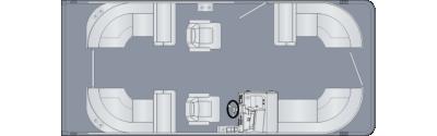Cruiser 210 CWDH Floorplan