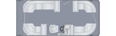 Cruiser 210 CW Floorplan