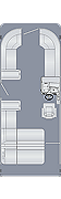 Cruiser 230 CS Floorplan