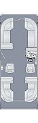 Cruiser 230 CWDH Floorplan