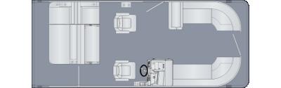 Cruiser 230 SLDH Floorplan