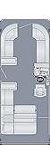 Cruiser 230 SL Floorplan