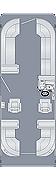 Cruiser 250 CWDH Floorplan
