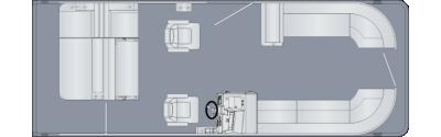 Cruiser 250 SLDH Floorplan