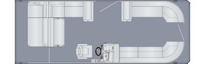 Cruiser 250 SL Floorplan