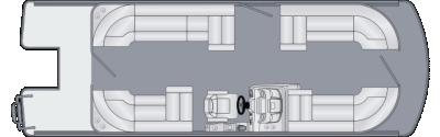 Solstice 230 CW Floorplan
