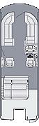 Solstice 230 SLDH Floorplan