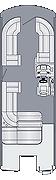 Solstice 230 SL Floorplan