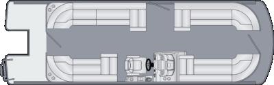 Solstice 250 CW Floorplan