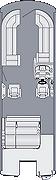 Solstice 250 SLDH Floorplan