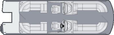 Solstice DC 250 CWDH Floorplan