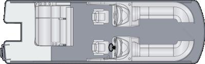 Solstice DC 250 SLDH Floorplan