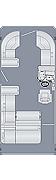 Sunliner 210 SL Floorplan