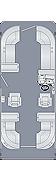 Sunliner 230 CWDH Floorplan