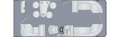 Sunliner 230 CWEB Floorplan