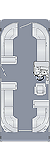 Sunliner 230 CW Floorplan