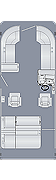 Sunliner 230 SLDH Floorplan