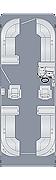 Sunliner 250 CWDH Floorplan
