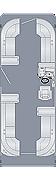 Sunliner 250 CW Floorplan