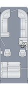 Sunliner 250 SLDH  Floorplan