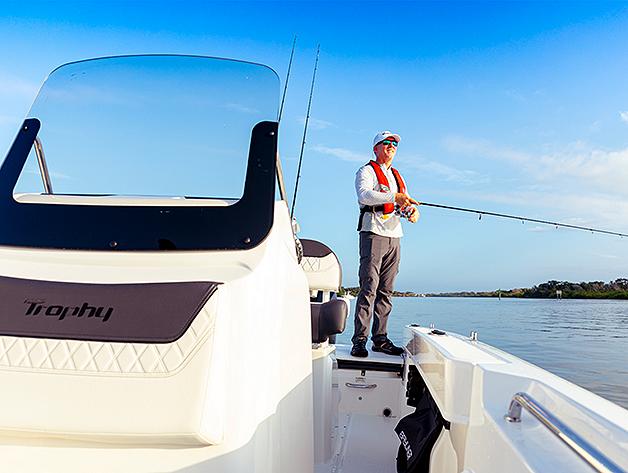 Bayliner Trophy Fishing Pic