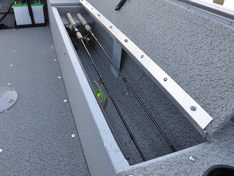 Fury Port Rod Storage Compartment