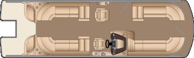 Grand Mariner CWDH 270 Floorplan