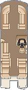 Grand Mariner DL 250 Floorplan