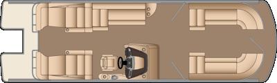Grand Mariner DL 270 Floorplan