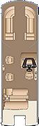 Grand Mariner SLDDH 270 Floorplan