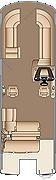 Grand Mariner SLDH 230 Floorplan