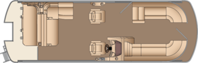 Grand Mariner SLDH 250 Twin Engine Floorplan