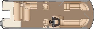 Grand Mariner SLDH 250 Floorplan