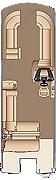 Grand Mariner SLEC 230 Floorplan