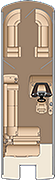 Grand Mariner SLEC 270 Floorplan